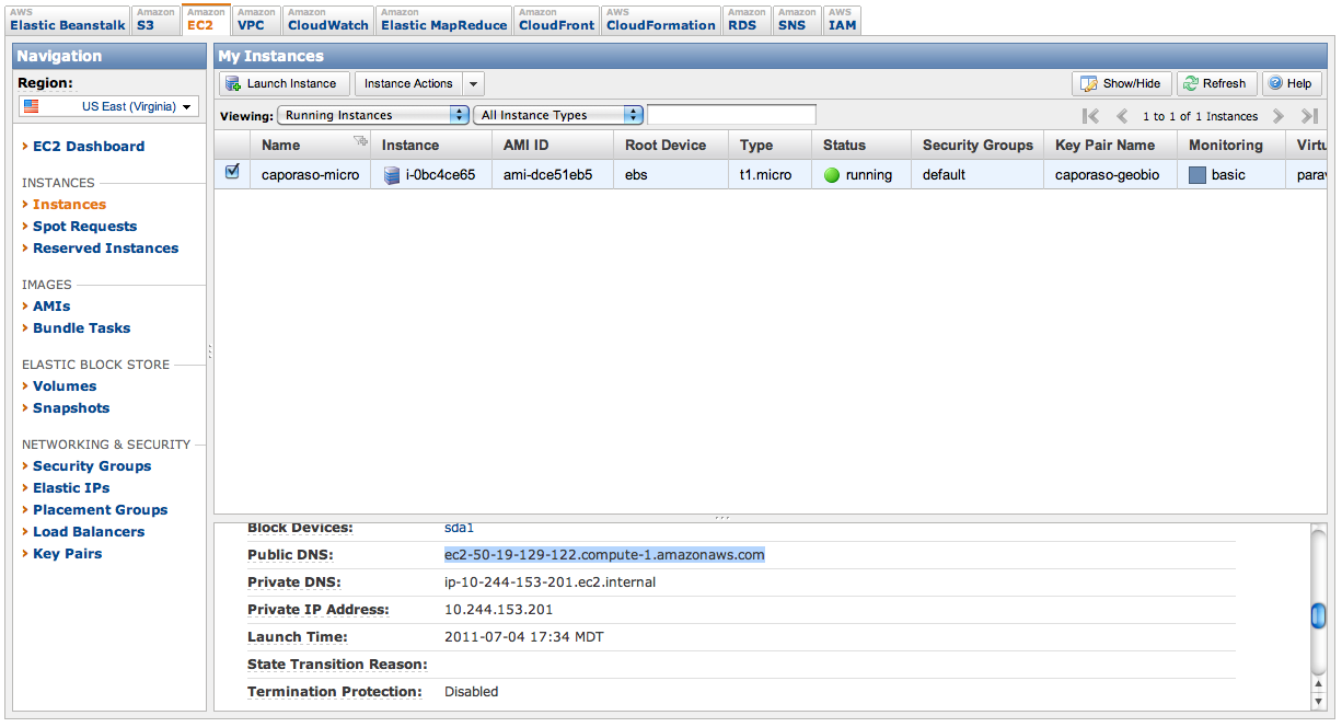Working with QIIME on Amazon Web Services EC2 — Homepage
